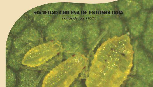 Nuevo volumen Revista Chilena de Entomología